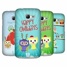 HEAD CASE DESIGNS OWL XMAS CASE COVER FOR SAMSUNG GALAXY STAR PRO S7260 S7262