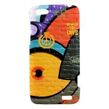 Amsterdam Graffiti Design - Hard Case for HTC Cell (30 Models) -OP4046