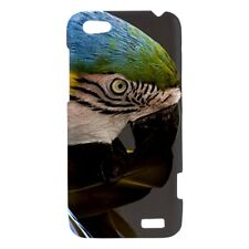 Macaw Parrot Bird  - Hard Case for HTC Cell (30 Models) -OP4638
