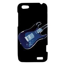 Neon Guitar / Music Design - Hard Case for HTC Cell (30 Models) -OP4694