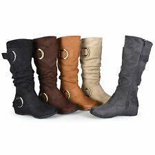 Journee Collection Women's 'Jester-01' Slouchy Wide Calf Boots