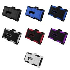 NOKIA LUMIA 920 HYBRID Phone Case Protector Cover Stand with Holster Accessory