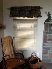 """NEW 2"""" JCPenney Faux Wood Window Blind/shade"""