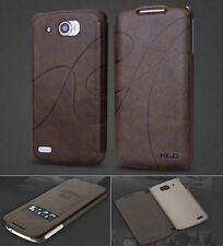 5 Colors Luxury Leather Card Flip Stand Case Skin Cover For LENOVO S920 /Lephone