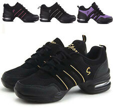 Women's Fashion Sneakers Comfy Modern Jazz Hip Hop Dance Shoes Breathable 7Style