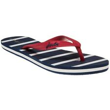 New Womens Joules Blue Jenny Rubber Sandals Flats Slip On