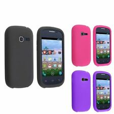 Colorful Silicone Soft Gel Skin Cover Case for Samsung Galaxy Centura S738C