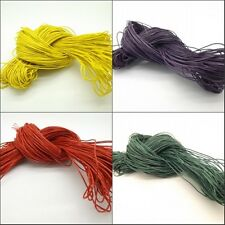 Cotton Wax Cord 1mm,100 yards,jewelry making supplies necklace bracelets cord