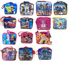 Smurfs Mario Pokemon Winx Sofia Pony Princess Insulated Cooler Snack Lunch Bag