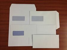 DL, C5 & C4 ENVELOPES 'SELF SEAL' WHITE 80gsm WITH / WITHOUT WINDOW 24 H