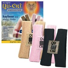 Qu-Chi Acupressure Band Drug Free Proven Natural Relief from Hayfever Allergy