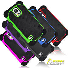 Tough Hard Heavy Duty Case Cover For Samsung Galaxy S5 S V + ScrenGd Shock proof