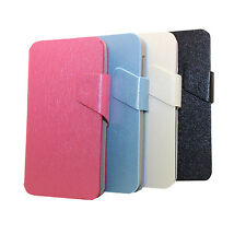 Wallet Leather Case Cover Pouch For Alcatel One Touch X'POP 5035 XPOP OT-5035