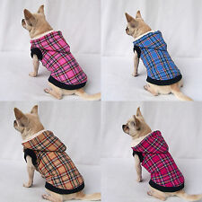 Grid Dog Coat with Hoodie *Many Colours & Sizes*
