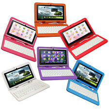 "Kocaso Tablet 7"" Android 4.2 Dual Core 1.5GHz Dual Camera Matching Keyboard Case"