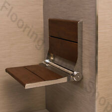 """Invisia Shower and Bath Benches Brazilian walnut 26"""" Support up-to 500 lb"""