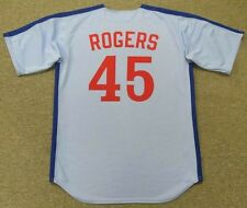 STEVE ROGERS Montreal Expos 1981 Majestic Cooperstown Away Baseball Jersey