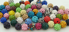 10mm for Shamballa Beads Clay Crystal Disco Ball Make Bracelect Wholesale Lots