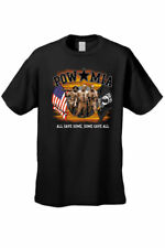MEN'S POW MIA T-SHIRT All Gave Some, Some Gave All USA MILITARY HEROES S-4X 5X