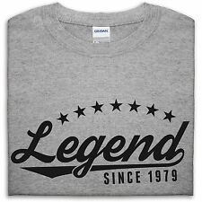 Legend Since 1979 T Shirt Men 36 35 Gift Present For Him Husband Fathers Day Dad