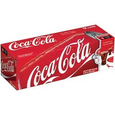 Coca-Cola Coke 12 Pack 12 Ounce Cans 4 Flavor Choices Priority Shipping