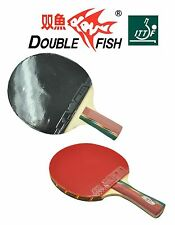 DOUBLE FISH TABLE TENNIS BAT / BLADE 1A - 2A - 3A - 4A LONG OR SHORT HANDLE