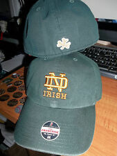 Notre Dame Fighting Irish NCAA Dark Green & Gold Franchise Hat Cap University IN