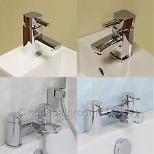 Vesta Basin Mixer Bath Shower Mixer Bath Filler Bathroom Cloakroom Chrome Taps