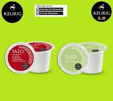 NEW STARBUCKS TAZO coffee tea Keurig k-Cups Pick AWAKE OR ZEN You Pick The Size