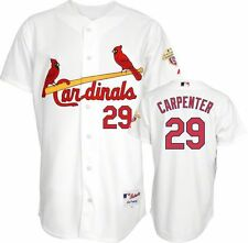 2012 Chris Carpenter AUTHENTIC St. Louis Cardinals CHAMPS Home Jersey (40-52)