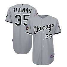 2005 Frank Thomas Chicago White Sox Authentic World Series Road Cool Base Jersey