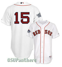 Dustin Pedroia Boston Red Sox Authentic 2013 World Series Home Jersey Men's