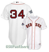 David Ortiz Boston Authentic Red Sox 2013 World Series Home Jersey Men's