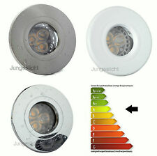 1-Ensemble 20 LED Douche A Encastrer IP44 Aqua GU10 230V 5W = 50W LED Classe A