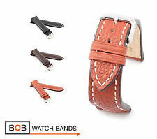 BOB Marino Buffalo Watch Band/Strap for Breitling, 20 & 22 mm, 3 colors, new!
