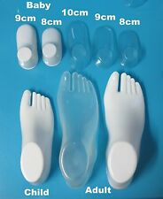 50-2pcs Baby/Child/Women Feet/Foot Display Booties Shoes Socks Plastic PVC