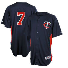 Joe Mauer Minnesota Twins Authentic Batting Practice Jersey Men's XL - MAJESTIC