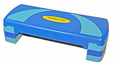 Aerobic Step Box 2 Or 3 Height Levels Non Slip Block Exercise Stepper Oz Style