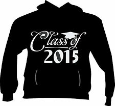 Class of 2015, Senior, Graduate -Pullover Hoodie Fleece S - 5x! Customize Colors
