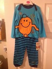 BNWT Baby Toddler Boys Choose Size Mr Men Mr Tickle Two Piece Set Clothes Kids
