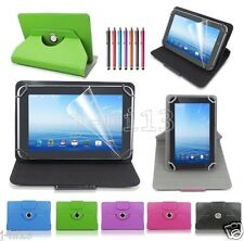 "Rotating Leather Case Cover+Gift For 7"" 7-Inch RCA Android Tablet GB1"