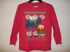 "OLD NAVY COLLECTABILITEES   ""Boys Adventure Time""   5 / 6-7  (red)    NWT"