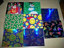 (LOT OF 100) GIFT WRAP BOX MUSIC CD / PC GAME (HOLIDAY, BIRTHDAY, ANY OCCASION)
