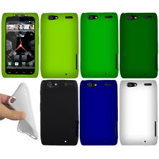 For Motorola Droid RAZR XT912 XT910 Color SILICONE Soft Skin Rubber Case Cover