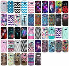 For LG Extravert 2 VN280 Glossy Shield Protector Hard Cover Snap On Phone Case