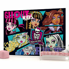 Monster High Ghoul Kids Rule Photo Wallpaper Wall Mural (CN−983VE)