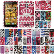 For T-Mobile Alcatel One Touch Fierce 7024W Case Bling HARD Cover Keep Calm