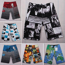 Men Surf Board Shorts Quick Dry Beach Pants Boardshorts Swimwear Trunks 30-38