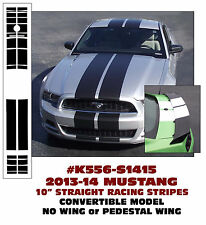"K556 2013-14 MUSTANG 10"" LEMANS STRIPES - CONVERTIBLE - NO WING - PEDESTAL WING"