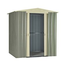 High Quality Apex Metal Garden Shed Multiple Sizes 6x5, 8x6, 10x8